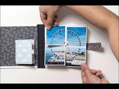 Minibook mit Pop-Up-Funktion - Tutorial der Minialbum-Werkstatt - YouTube