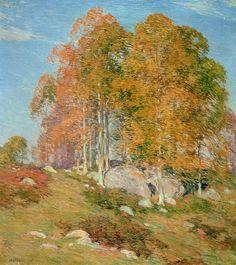 Early October - Willard Leroy Metcalf