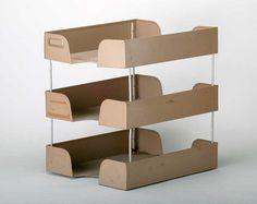 Vintage 3 Tier Metal  Desk organizer  Industrial by msmichiganroux, $26.00