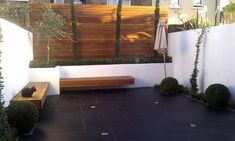 modern courtyard gardens - Google Search