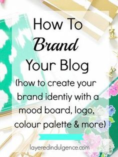 Branding your blog is a MUST if you want to stand out and attract your target readers. I'm dishing out all my best tips to help you find your blog's brand identity, from creating a mood board to pinpointing your colour palette, and deciding on a logo design. Click through to read my branding tips now, or save this pin for later!