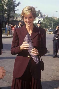 Rare burgundy suit