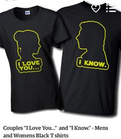 Star Wars shirts for Joey and Steph