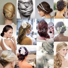 Timeless wedding hair styles