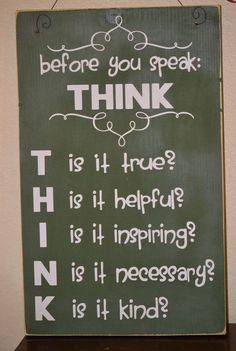 before you think is it true - Google Search