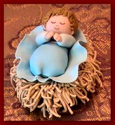 Is this not sweet?  Bread Clay Nativity at website:   http://year-round-christmas-preparation.com/bread-clay-nativity.html