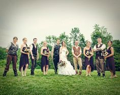 Wedding Party for Lord of the Rings Wedding