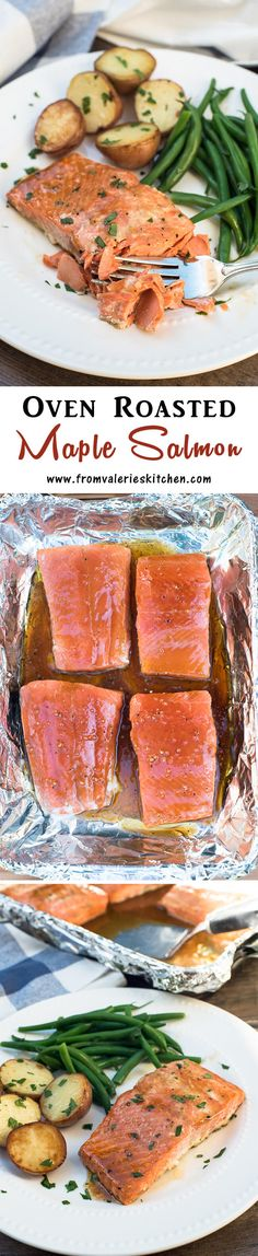 Get this delicious salmon from your freezer to your dinner table in 25 minutes! ~ @alaskaseafood #FrozentoFork #sp http://www.fromvalerieskitchen.com