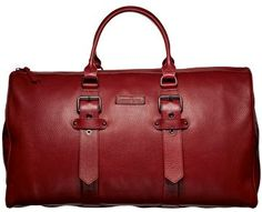 Red travel bag by Kate Moss for Longchamp Paris