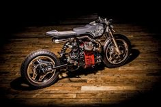 Honda CX500 Cafe Racer by Ed Turner