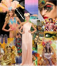 """""""Rio Carnival"""" by cocolavieenrose on Polyvore"""