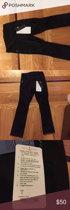 "Lululemon Rush Hour 21"" crop pants Brand new, never been worn lululemon athletica Pants Track Pants & Joggers"