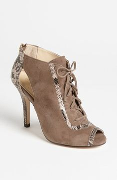Isol? 'Brea' Bootie Womens Taupe Grey/ Natural Size 10 M 10 M on shopstyle.com - $130.00