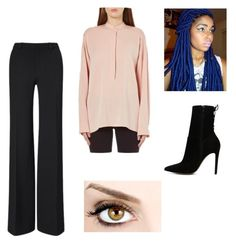 """""""Iko: The Lunar Chronicles At the Ball"""" by beccaodell91801 on Polyvore featuring Roland Mouret, Helmut Lang and ALDO"""
