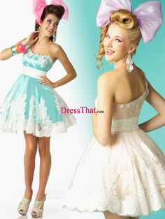 Our dresses are cut to accentuate the waist and flatter a big bust