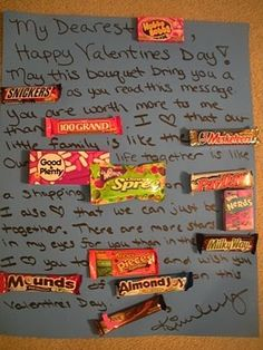 Welcome to the Mad House: Valentine Candy Grams