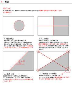 色んな構図の作り方 [13]