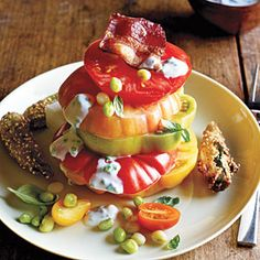 Hot and Hot Tomato Salad | MyRecipes.com