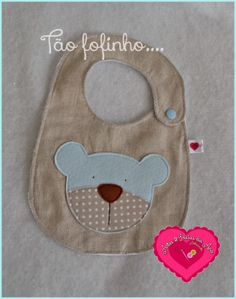 Artes & Ideias da Ana | Bear applique