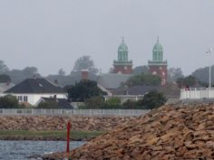 New Bedford's Southend looking towards Mt. Carmel church