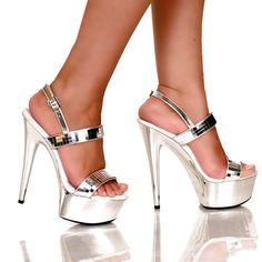 mirrored heels