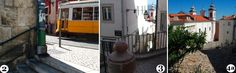 Alfama, Lisbon - good suggestions for a walking tour - be sure to stop for lunch along the way!