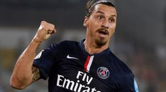 Zlatan Ibrahimovic, the world's best soccer player