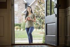 Brisa Retractable Screen Doors! Enjoy the summer air all summer long.