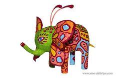alebrijes imagenes elefante mariposa