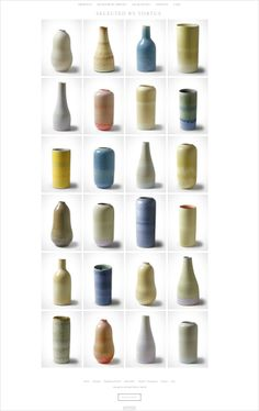 Selected by Tortus.  Every once in awhile there emerges an extraordinary gem from our kilns that deserves to be highlighted. Tortus presents this hand-picked selection of ceramics that exemplify these special moments in our own online store.  http://selected.tortus-copenhagen.com/