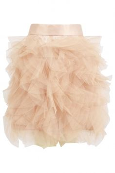 Layered Tulle Puff Bubble Skirt