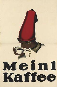Joseph Binder, Meinl Kaffee, 1924