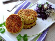 Que diriez-vous de réaliser des petites galettes végétariennes pleines de goût ? Et oui, le végétarien ne se nourrit pas uniquement de fruits et de légumes. C'est très gourmand, un végétarien … ;-)