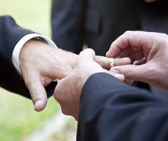 promise of a life time #love #wedding #ring #LGBT #nycpride #happilyeverafter