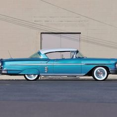 '58 Chevy Impala with Continental Kit. Photo by boschautoparts