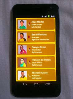 Catch updates of IPL Matches with cricket Apps on your Gionee Smartphones- http://gionee.co.in/products.html