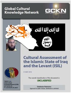 ARCHIVE - IISCA: U.S. Army Cultural Assessment of the Islamic State...