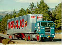 Diamond T and Reo Truck Pictures