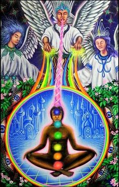 Kundalini rising to the ascended masters