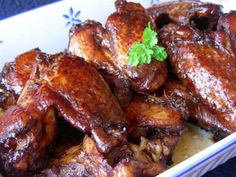 My children love these wings. I like that they cook in the crock pot!