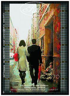 Gallery.ru / Фото #1 - *** - irina60irina Monet, Cross Stitch, Embroidery, Painting, People, Dots, Flowers, Love, Templates
