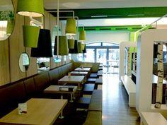 Entwurf, Ausführungsplanung und  Erstellung Print-Motive Franchise Systemrestaurant WIENERWALD | REGENSBURG, Arnulfsplatz 4, Regensburg, Deutschland, Planungsbüro von Brand, Fertigstellung 2011