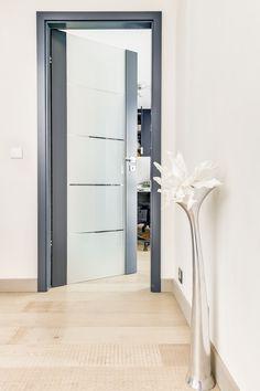 porte intérieure vitrée très moderne