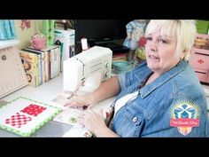 ▶ The Angler 2 by Pam Bono Designs - Fat Quarter Shop - YouTube