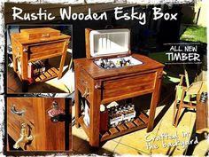 Rustic Esky Cooler | Do It Yourself Home Projects from Ana White