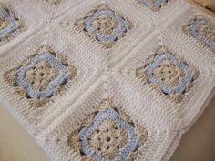 Mavi küpler bebek battaniyesi