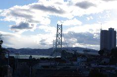 垂水区某所より明石海峡大橋