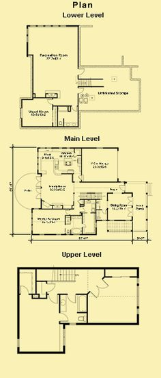 1000 images about home decor on pinterest home plans for Daylight basement plans
