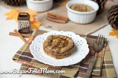 This keto maple cinnamon egg loaf recipe is a cross between french toast and a puff pancake and perfect for an easy low carb, dairy free breakfast! Keto Breakfast Muffins, Keto Breakfast Smoothie, Yogurt Breakfast, Breakfast On The Go, Breakfast Bars, Low Carb Breakfast, Breakfast Ideas, Breakfast Dishes, Egg Loaf Recipe
