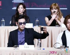 TOP | YG Family Power Tour in Singapore Press Conference 140912